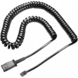 Plantronics Coil Cord To Modular Plug