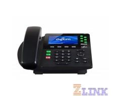 Digium D65 6-line Gigabit IP Phone 1TELD065LF