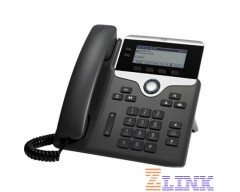 Cisco IP Phone 7821-3PCC with 2 Lines and Open-SIP