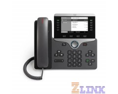 Cisco IP Phone CP-8811 with 5 Lines Open-SIP and Grayscale Display (CP-8811-3PCC-K9)