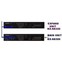 Tổng đài Panasonic KX-NS300, 24 trung kế, 56 máy nhánh