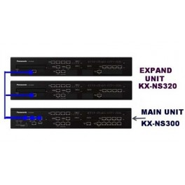 Tổng đài iP Panasonic KX-NS300, 18 trung kế, 96 máy nhánh