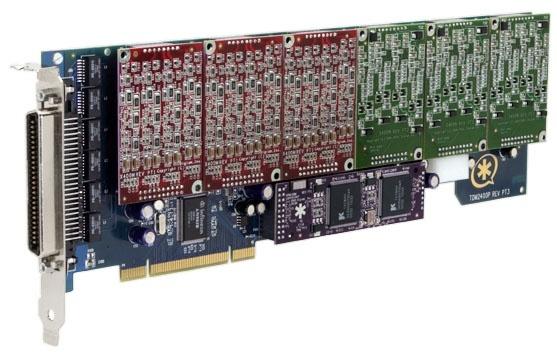 Digium TDM2406B 0 FXS / 24 FXO