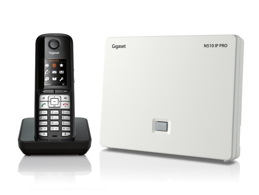 Gigaset N510IP Base Station and Gigaset S510H Phone bundle