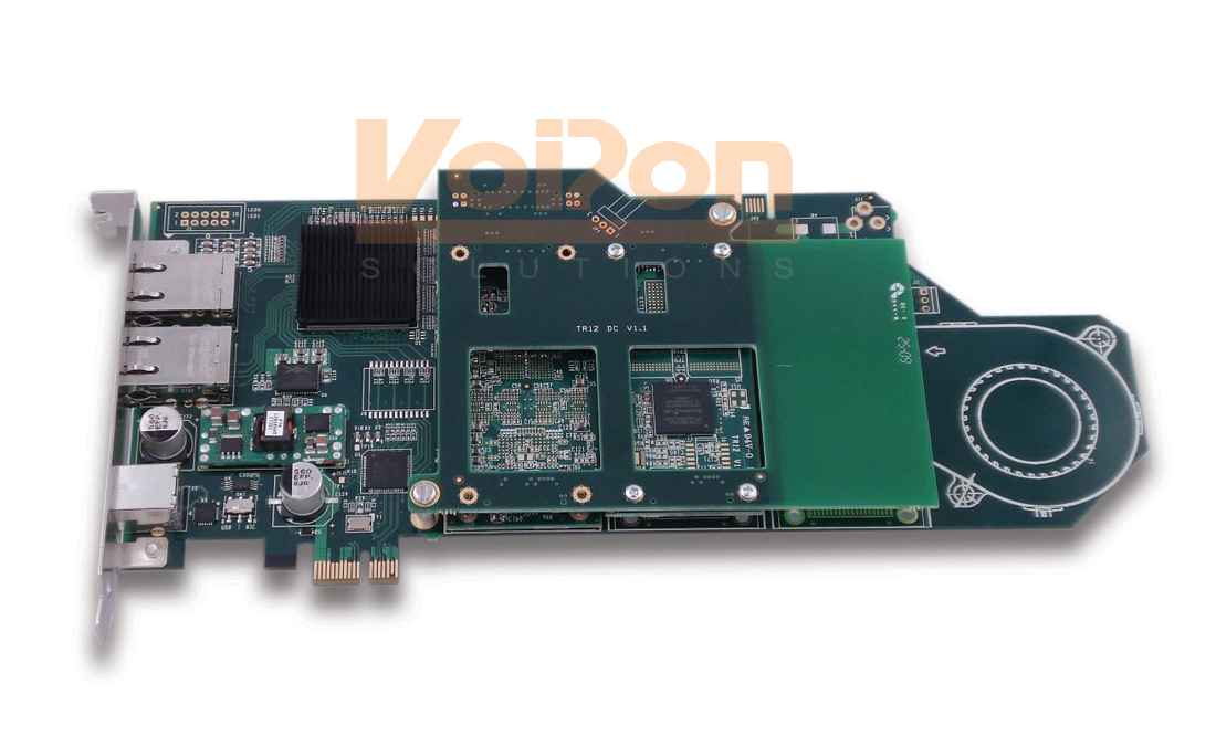 Octasic TXP1050 High Density Video Transcoding Card