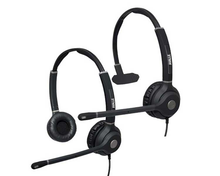 Avalle Verso Trio VoIP Headset Kit + AV01 Smart Lead