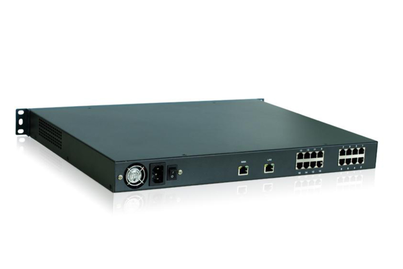 ZYCOO ZX100-A16214 IP-PBX - 14 x FXO and 2 X FXS
